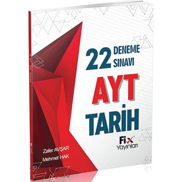 AYT Tarih 22li Deneme Sınavı Fix Yayınları
