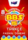 8. Sınıf Türkçe BBS 15 Fasikül Deneme BiNot Yayınları