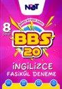 8. Sınıf İngilizce BBS 20 Fasikül Deneme BiNot Yayınları