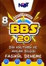8. Sınıf Din Kültürü ve Ahlak Bilgisi BBS 20 Fasikül Deneme BiNot Yayınları