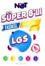 8. Sınıf LGS Süper 8li Fasikül Deneme Seti BiNot Yayınları