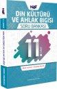 11. Sınıf Din Kültürü ve Ahlak Bilgisi Soru Bankası BiNot Yayınları