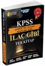 KPSS Sadece Ön Lisans Adayları İçin İlaç Gibi Tek Kitap Akıllı Adam Yayınları