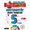 Nar Test 5. Sınıf Kırmızı Süper Zeka Matematik Soru Bankası Fen Liselerine Hazırlık