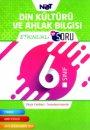 6. Sınıf Din Kültürü ve Ahlak Bilgisi Etkinlikli Bi Soru BiNot Yayınları