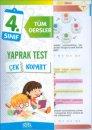 4.Sınıf Tüm Dersler Yaprak Test Rota Yayınları