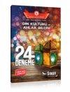 8. Sınıf LGS Din Kültürü ve Ahlak Bilgisi 24 Ayar Deneme Sınav Yayınları