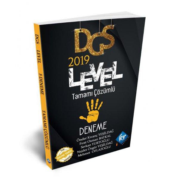 2019 DGS Level Tamamı Çözümlü 5 Deneme Kr Akademi