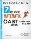 ÖABT Matematik 7 Özel Deneme İrrasyonel Yayınları