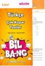 5. Sınıf Türkçe Yaprak Test Bil-Bang Kültür Yayıncılık