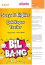 5. Sınıf Sosyal Bilgiler Yaprak Test Bil-Bang Kültür Yayıncılık