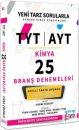 TYT AYT Kimya Video Çözümlü 25 Branş Denemeleri Yargı Lemma Yayınları