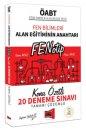 2019 ÖABT Fen Bilimleri FENOTİP Konu Özetli Tamamı Çözümlü 20 Deneme Sınavı Yargı Yayınları