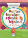 Kuran Kursları Etkinlik Kitabı 4-6 Yaş Takım Diyanet İşleri Başkanlığı Yayınları