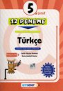 5. Sınıf Türkçe 12 Deneme Altın Başarı Yayınları
