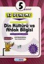 5. Sınıf Din Kültürü ve Ahlak Bilgisi 12 Deneme Altın Başarı Yayınları