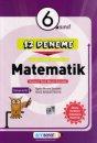 6. Sınıf Matematik 12 Deneme Altın Başarı Yayınları