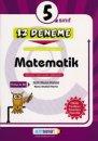 5. Sınıf Matematik 12 Deneme Altın Başarı Yayınları