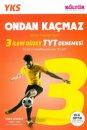 TYT Ondan Kaçmaz 3 İleri Düzey Denemesi Kültür Yayınları