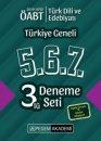 2019 ÖABT Türk Dili ve Edebiyatı Öğretmenliği Türkiye Geneli Deneme (5.6.7) 3 lü Deneme Seti Pegem Yayınları