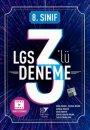 8. Sınıf LGS 3 lü Deneme Beyin Takımı Yayınları