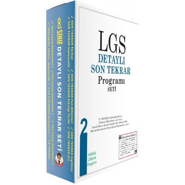 8.Sınıf LGS Hızlı Son Tekrar Programı Seti 2 Tonguç Akademi