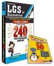 8.Sınıf LGS Öncesi Çözülmesi Gereken 240 Fen Bilimleri Soru Kampı Mutlak Değer Yayınları