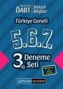 """2019 ÖABT Sosyal Bilgiler Öğretmenliği Türkiye Geneli Deneme (5.6.7) 3""""lü Deneme Seti Pegem Yayınları"""