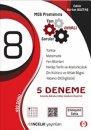 8.Sınıf LGS 5 li Deneme Öncelik Yayınları