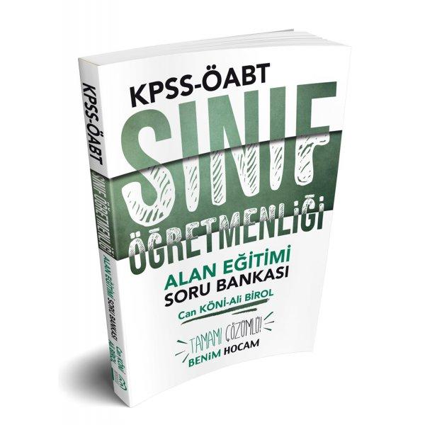 2019 ÖABT Sınıf Öğretmenliği Alan Eğitimi Tamamı Çözümlü Soru Bankası Benim Hocam Yayınları