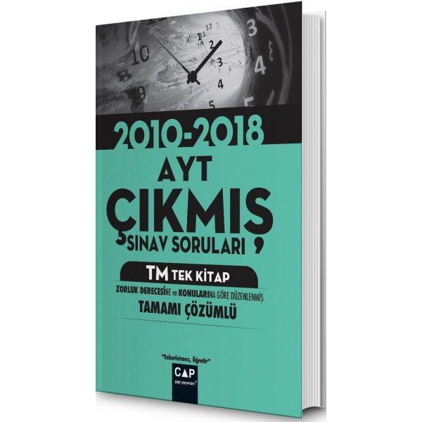 Çap  AYT TM Tek Kitap Çıkmış Sınav Soruları