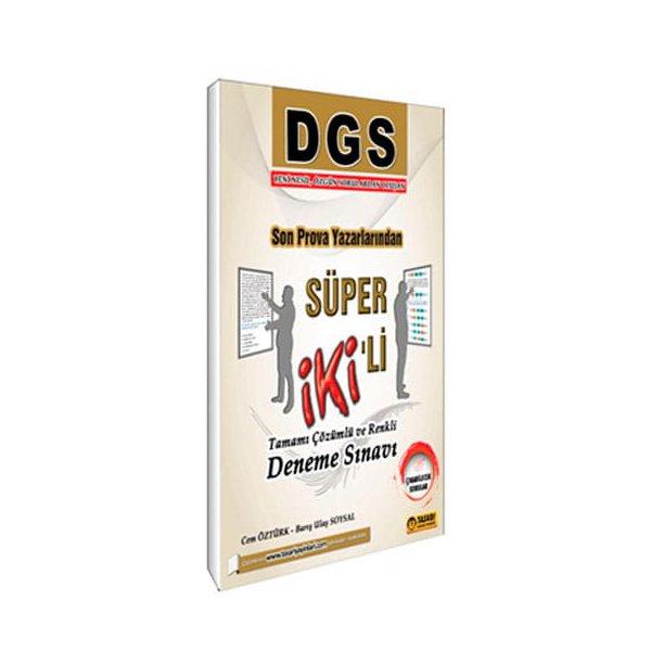 DGS Süper 2 li Tamamı Çözümlü Deneme Tasarı Yayınları