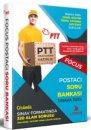 2019 PTT Postacı Sınavlarına Özel Hazırlık Focus Soru Bankası Liyakat Yayınları
