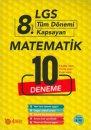 8 Sınıf LGS Matematik 10 Deneme 4 Adım Yayıncılık