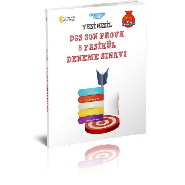 2019 DGS Yeni Nesil Son Prova 5 Fasikül Deneme Akıllı Adam Yayınları