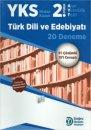 YKS 2.Oturum AYT Türk Dili ve Edebiyatı 20 Deneme Doğru Orantı Yayınları