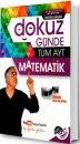 Dokuz Günde Tüm AYT Matematik Yarı Çap Yayınları