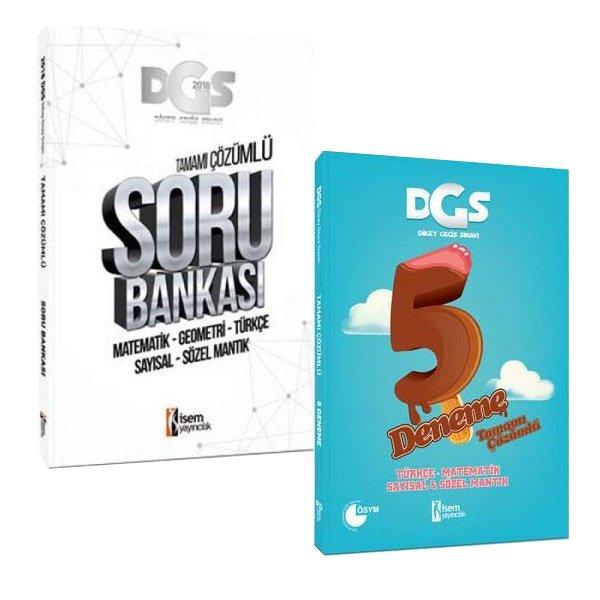 DGS Kazandıran Set Soru Bankası ve 5 Deneme Sınavı İsem Yayınları