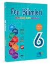 6. Sınıf Fen Bilimleri Yeni Nesil Soru Bankası Martı Okul M+ Yayınları