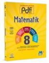 8. Sınıf LGS Matematik PDF Planlı Ders Föyü Martı Okul M+ Yayınları