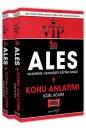 Yargı Yayınları 2021 ALES VIP Sayısal Sözel Bölüm Konu Kitabı Seti