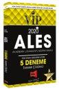 2020 ALES VIP Yeni Sınav Sistemine Göre Tamamı Çözümlü 5 Deneme Yargı Yayınları