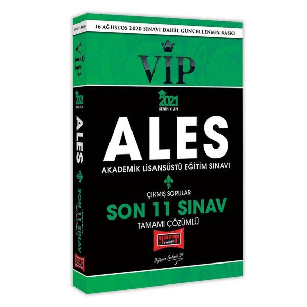 Yargı Yayınları 2021 ALES VIP Son 11 Sınav Tamamı Çözümlü Çıkmış Sorular
