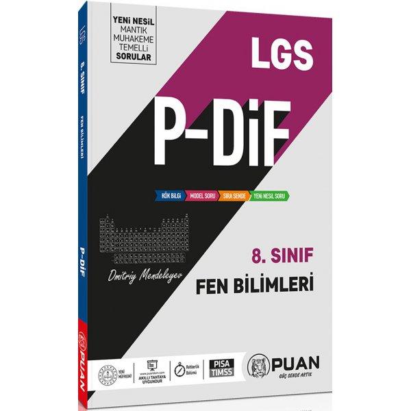 8. Sınıf LGS Fen Bilimleri PDİF Konu Anlatım Föyleri Puan Yayınları