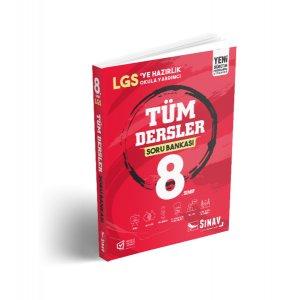 8. Sınıf LGS Tüm Dersler Soru Bankası Sınav Yayınları
