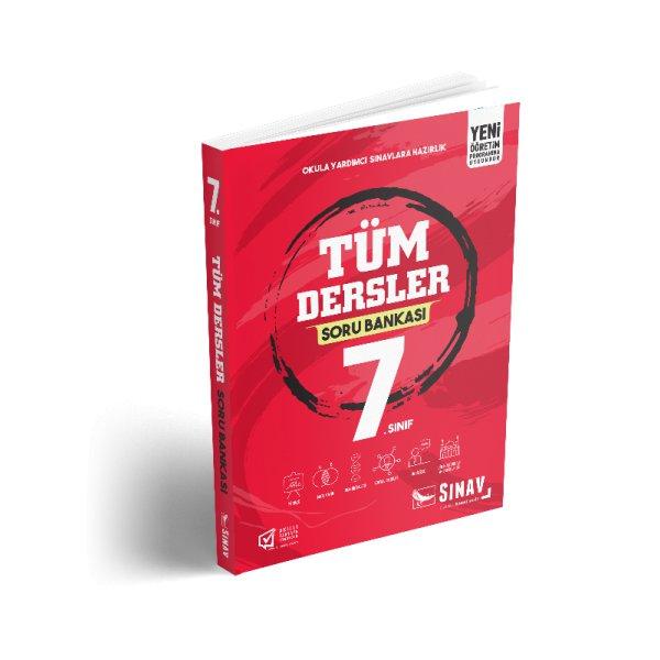 7. Sınıf Tüm Dersler Soru Bankası Test Kitabı Sınav Yayınları