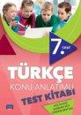 7.Sınıf Türkçe Konu Anlatımlı Test Kitabı Nobel Sınav Yayınları