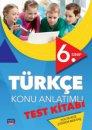 6. Sınıf Türkçe Konu Anlatımlı Test Kitabı Nobel Sınav Yayınları