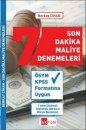 2019 KPSS Son Dakika Maliye Denemeleri Akfon Yayınları