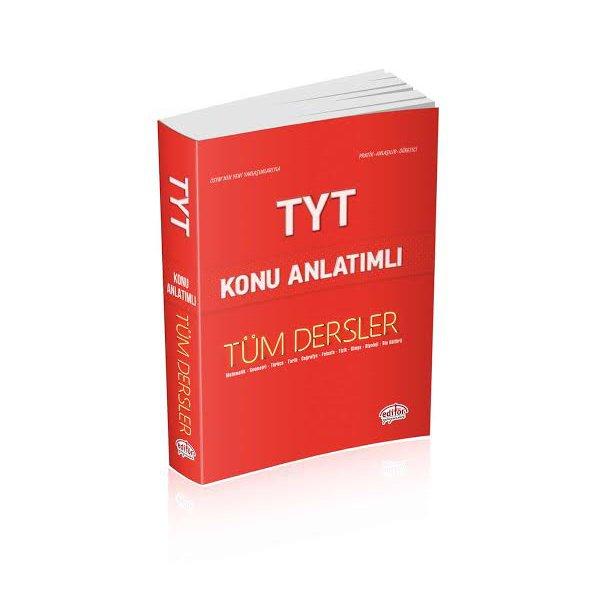TYT VIP Tüm Dersler Konu Anlatımlı Tek Kitap Editör Yayınları